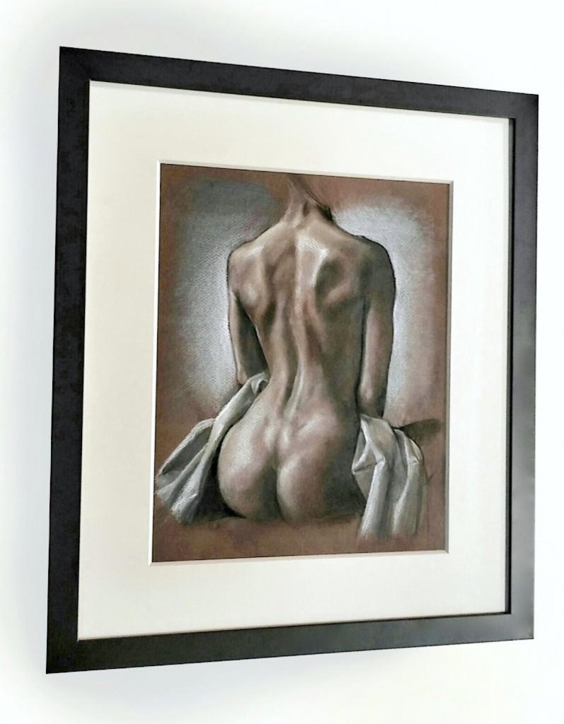 Framed Evelyn Astegno