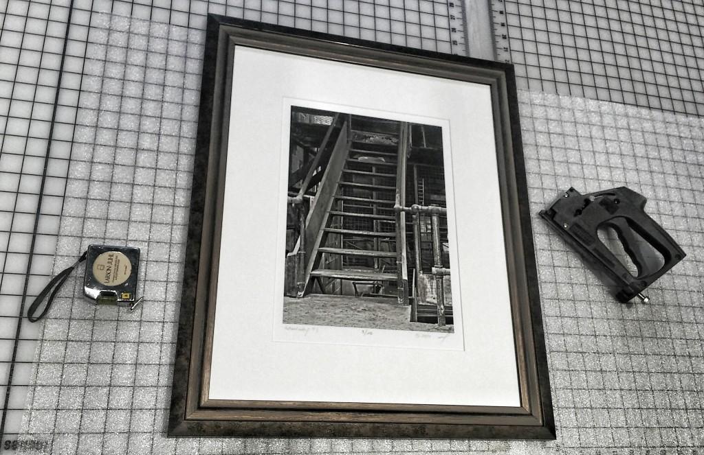 Gangyway framed- Bullivant Gallery- St. Louis, MO2