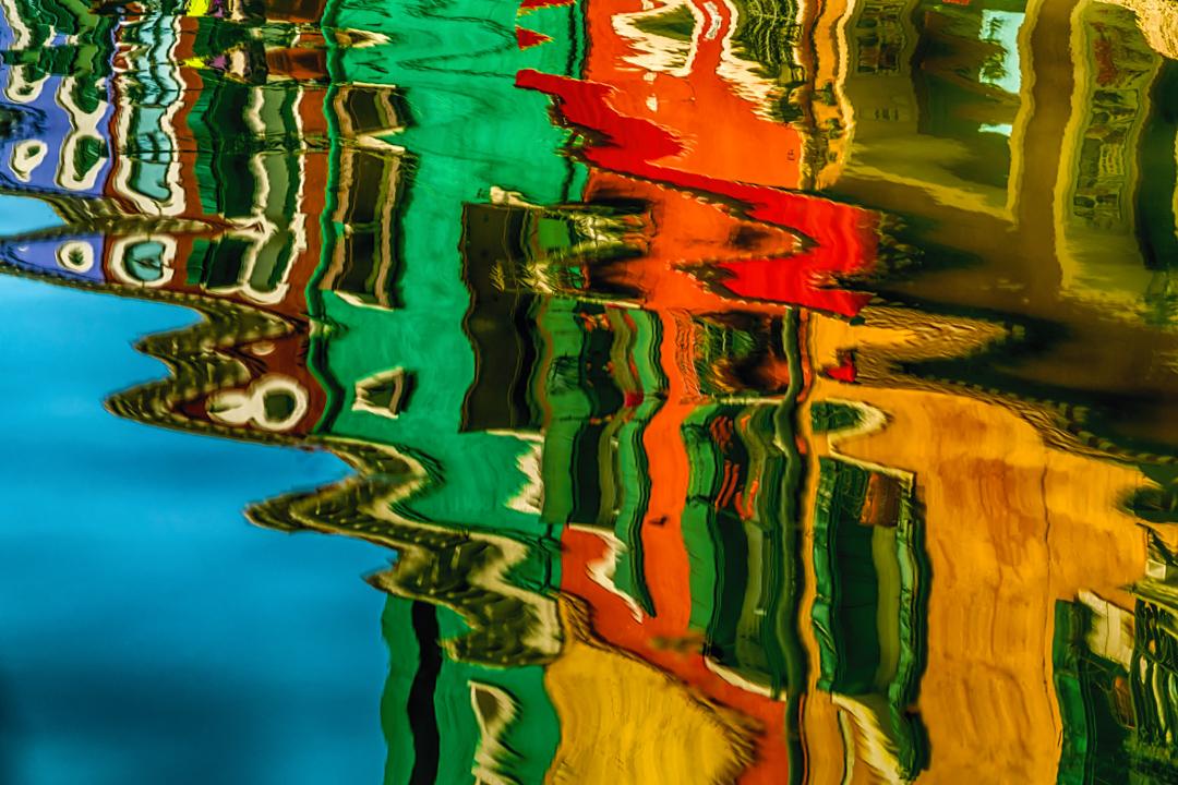 Reflections Burano Venice Italy_DSC5099_03032017 V2